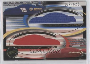 2002 Press Pass Eclipse Double Cover Race-Used Car Covers #DC 8 - [Missing] /625