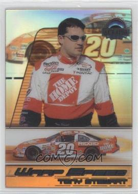 2002 Press Pass Eclipse Warp Speed #WS 5 - Tony Stewart