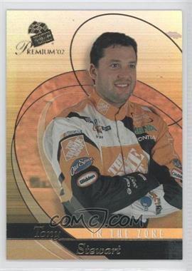 2002 Press Pass Premium In The Zone #IZ 11 - Tony Stewart