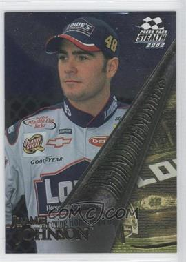 2002 Press Pass Stealth - Beind the Numbers #BN 7 - Jimmie Johnson