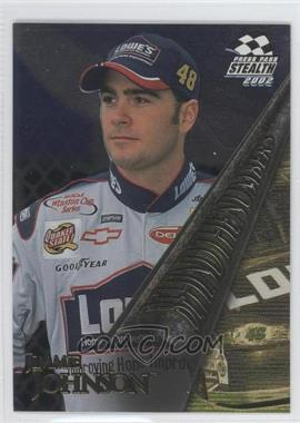 2002 Press Pass Stealth [???] #BN7 - Jimmie Johnson
