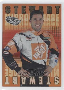 2002 Press Pass Trackside Mirror Image #MI 8 - Tony Stewart