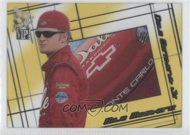 2002 Press Pass VIP Mile Masters Transparent #MM N/A - Dale Earnhardt Jr.