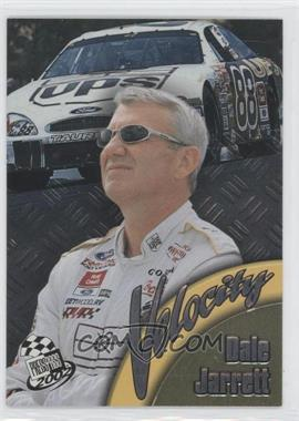 2002 Press Pass Velocity #VL 5 - Dale Jarrett