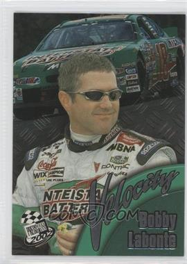 2002 Press Pass Velocity #VL 6 - Bobby Labonte
