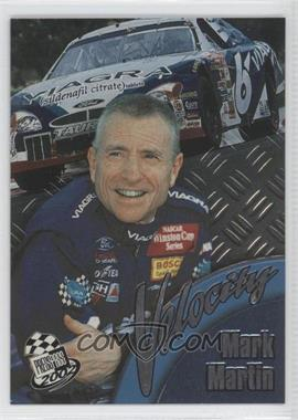 2002 Press Pass Velocity #VL 8 - Mark Martin