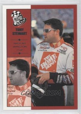 2002 Press Pass #34 - Tony Stewart