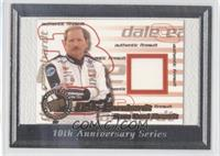 Dale Earnhardt No Jersey Swatch