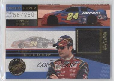 2003 Press Pass Eclipse Under Cover Driver Series Gold #UCD 1 - Jeff Gordon /260