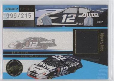 2003 Press Pass Eclipse Under Cover Team Series Gold #UCT 2 - Ryan Newman /215