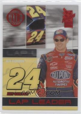 2003 Press Pass VIP - Lap Leaders - Transparent LTD #LL 1 TRANS - Jeff Gordon /250