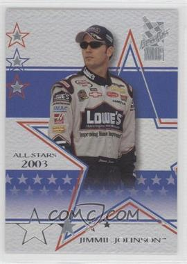 2003 Press Pass VIP Laser Explosive #LX28 - Jimmie Johnson /240