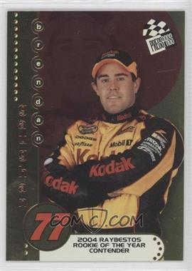 2004 Press Pass - Rookie of the Year Contender #RC 4 - Brendan Gaughan