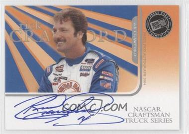 2004 Press Pass Autographs #RICR - Rick Crawford