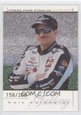 2004 Press Pass Premium Dale Earnhardt Gallery Gold #DEG 14 - Dale Earnhardt /200