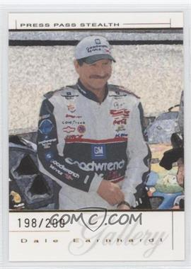 2004 Press Pass Premium Dale Earnhardt Gallery Gold #DEG 16 - Dale Earnhardt /200