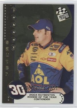 2004 Press Pass Rookie of the Year Contender #RC 2 - Johnny Sauter