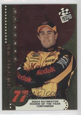 2004 Press Pass Rookie of the Year Contender #RC 4 - Brendan Gaughan