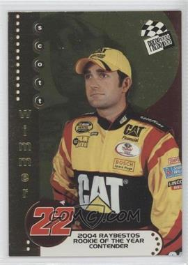2004 Press Pass Rookie of the Year Contender #RC 6 - Scott Wimmer