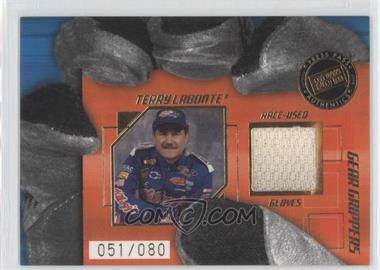 2004 Press Pass Stealth Gear Grippers Drivers #GGD 13 - Terry Labonte /80