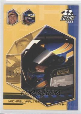 2004 Press Pass Stealth X-Ray #EB36 - Michael Waltrip /100