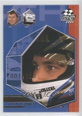 2004 Press Pass Stealth X-Ray #EB48 - Ryan Newman /100