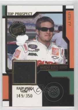 2004 Press Pass Top Prospect Race-Used #JY-T - J.J. Yeley /350