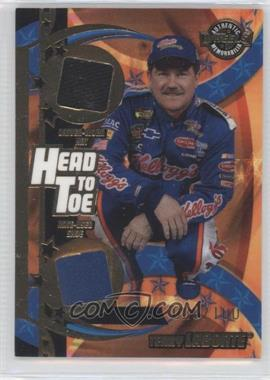 2004 Wheels American Thunder - Head to Toe Hat & Shoe #HT 6 - Terry Labonte /100