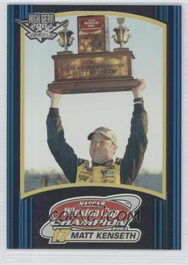 2004 Wheels High Gear #0 - Matt Kenseth