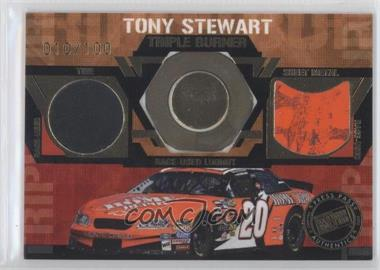 2005 Press Pass [???] #TB-9 - Tony Stewart