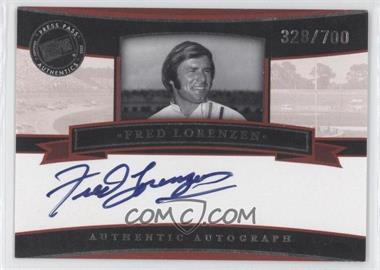 2005 Press Pass Legends Autographs Blue Ink #N/A - Fred Lorenzen