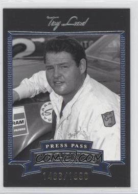 2005 Press Pass Legends Blue #6B - Tiny Lund /1890