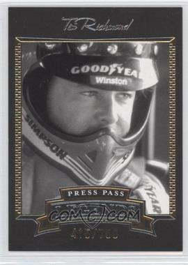 2005 Press Pass Legends Gold #23G - Tim Richmond /750