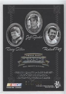 2005 Press Pass Legends Gold #50G - Checklist /750