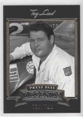 2005 Press Pass Legends Gold #6G - Tiny Lund /750