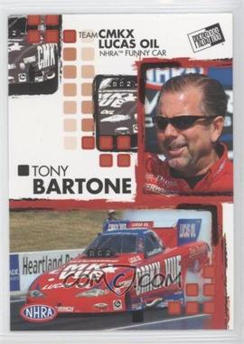2005 Press Pass NHRA #12 - Tony Bartone