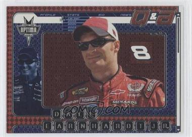 2005 Press Pass Optima Q & A #QA 6 - Dale Earnhardt Jr.
