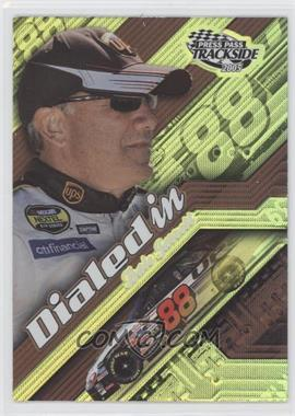 2005 Press Pass Trackside - Dialed In #DI 8 - Dale Jarrett