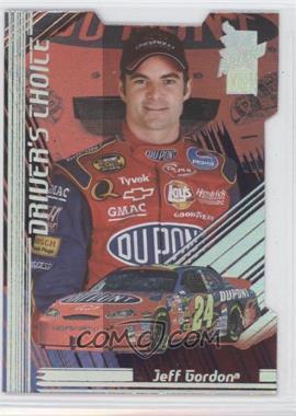 2005 Press Pass VIP - Driver's Choice - Die-Cut #DC 3 - Jeff Gordon
