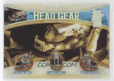 2005 Press Pass VIP Head Gear Transparent #HG 9 - Elliott Sadler