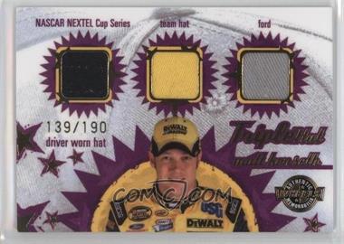 2005 Wheels American Thunder - Triple Hat #TH 11 - Matt Kenseth /190