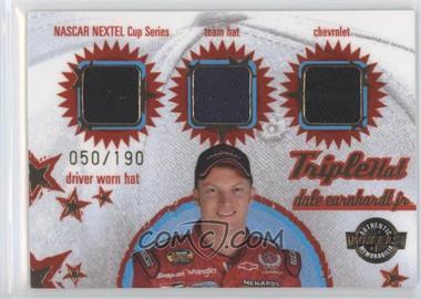 2005 Wheels American Thunder - Triple Hat #TH 4 - Dale Earnhardt Jr. /190