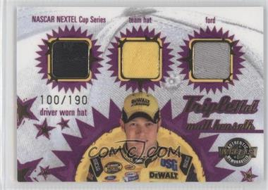 2005 Wheels American Thunder Triple Hat #TH 11 - Matt Kenseth /190