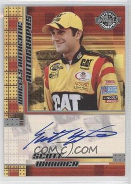 2005 Wheels Authentic Autographs [Autographed] #SCWI - Scott Wimmer