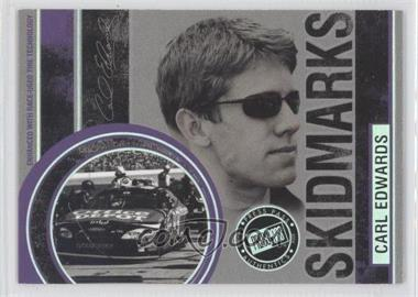 2006 Press Pass Eclipse Skidmarks Holofoil #SM 15 - Carl Edwards