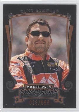 2006 Press Pass Legends - [Base] - Bronze #Z36 - Tony Stewart /999