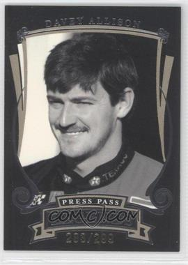 2006 Press Pass Legends [???] #G33 - Davey Allison /299