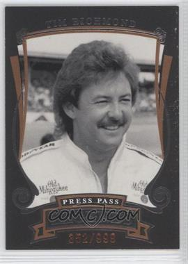 2006 Press Pass Legends [???] #Z29 - Tim Richmond /999