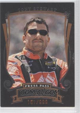 2006 Press Pass Legends [???] #Z36 - Tony Stewart /999