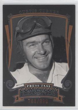 2006 Press Pass Legends Bronze #Z4 - Curtis Turner /999